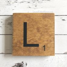 Load image into Gallery viewer, Scrabble Letter Tile Kits and Stencils