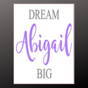 12x16 inch wood sign Dream Big personalized