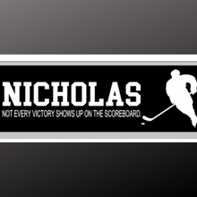 Load image into Gallery viewer, 8x24 inch sign hockey