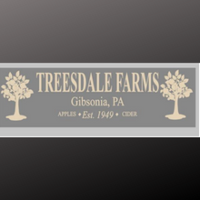 Load image into Gallery viewer, 8x24 inch sign Treesdale Farms