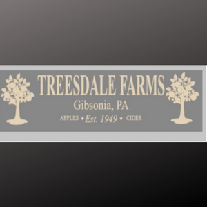 8x24 inch sign Treesdale Farms