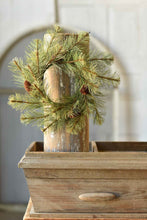 "Load image into Gallery viewer, 4.5"" Black Hills Pine Can Ring"