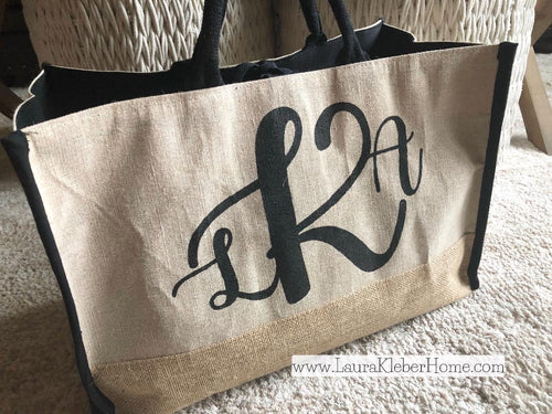 Jute Tote Bag Kit