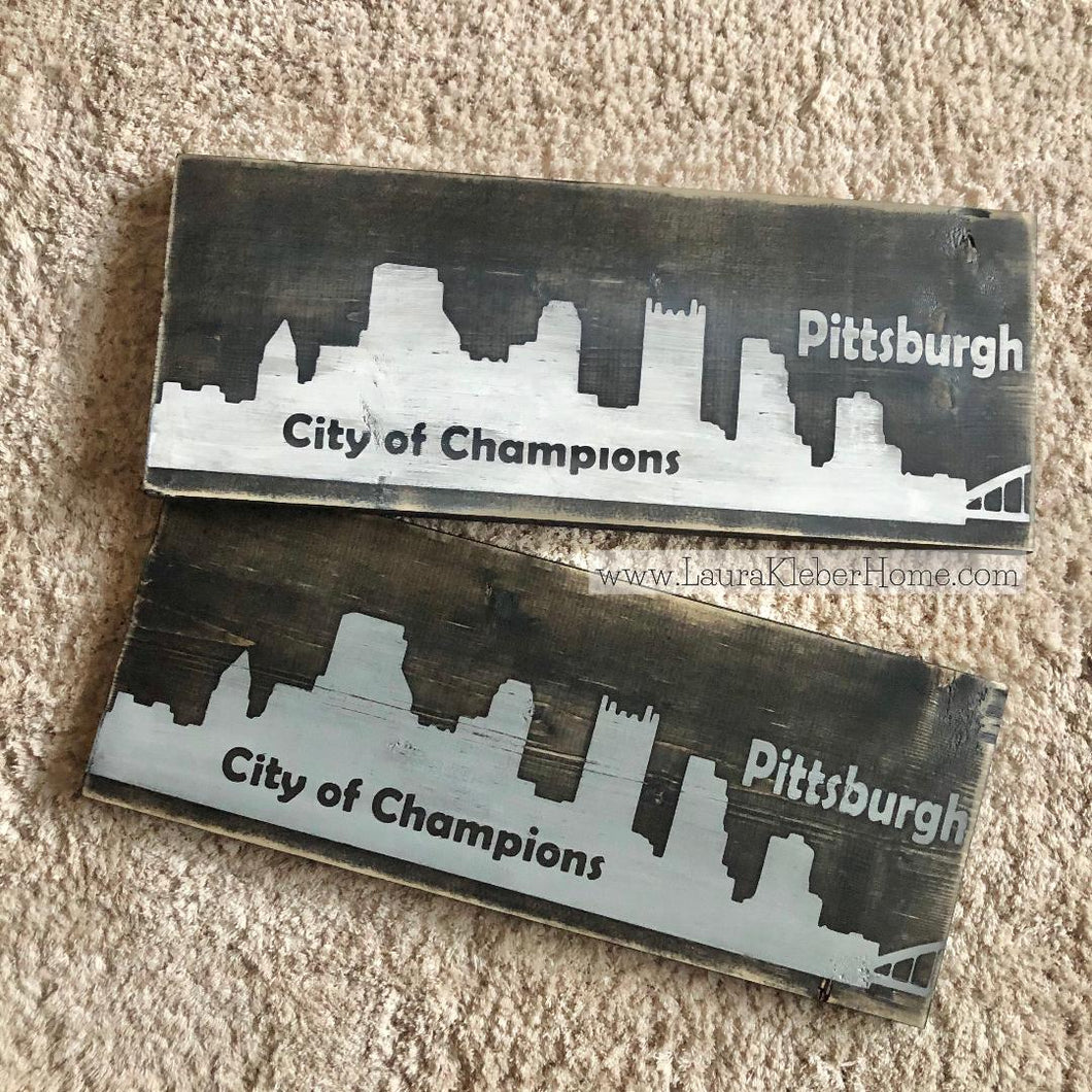 Pittsburgh Skyline Signs
