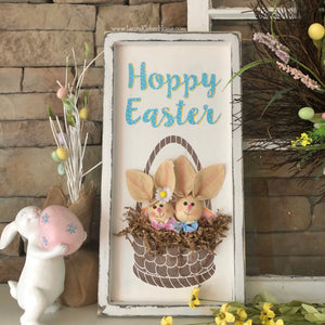 Easter Basket Sign Kit