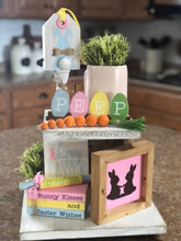 Load image into Gallery viewer, Tiered Tray Set - Spring/Easter