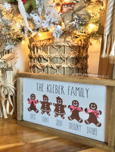 Load image into Gallery viewer, Gingerbread or Reindeer Framed Signs