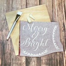 Load image into Gallery viewer, Basic Box Kit - Merry & Bright Sign