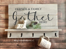 Load image into Gallery viewer, Farmhouse Shelf Sign - Gather