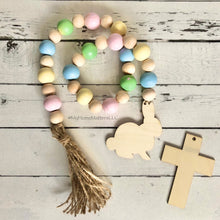 Load image into Gallery viewer, Wooden Beads - Spring Pastels