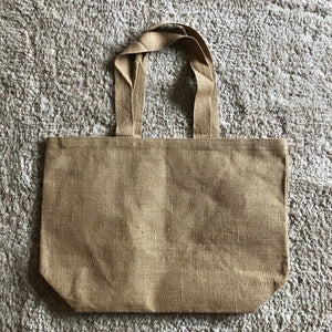 Burlap Tote Bag Kit