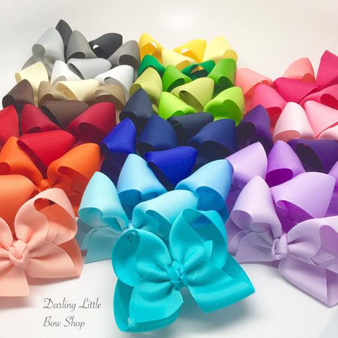 Basic Bows and Headbands