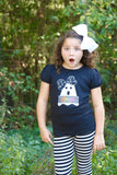 Girly Ghost Halloween bodysuit or shirt - Darling Little Bow Shop