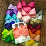 Ultimate Bow Starter Set -- 33 large basic bows -- one of each color -- Darling Little Bow Shop - Darling Little Bow Shop
