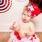 Over The Top Valentine Bow -- My Little Valentine - Darling Little Bow Shop