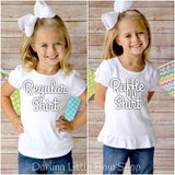 Girls School Bus Shirt - Darling Little Bow Shop