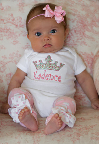 Newborn Take Me Home Princess outfit - Darling Little Bow Shop
