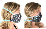 READY TO SHIP Face Mask in Mens, Ladies/Teen, and Child sizes Made In USA - Darling Little Bow Shop