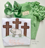 Sage Green Hairbow - Darling Little Bow Shop