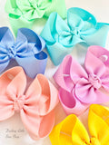 "M2M Matilda Jane Dream Chasers hairbow set of 6 colors 3"", 4"" , 5"" or 6"" bows - Darling Little Bow Shop"