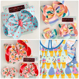 Hairbows made to Match Matilda Jane - Darling Little Bow Shop