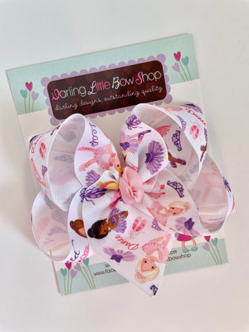 Ballet Hairbow - Darling Little Bow Shop