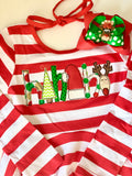 Christmas Dress - HoHoHo - Darling Little Bow Shop