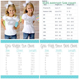 Spring Showers shirt, ruffle shirt, tank or bodysuit - Lilly Fan Sea Pants neon pink, lime, blues - Darling Little Bow Shop