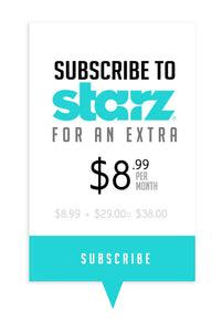 Starz Subscription