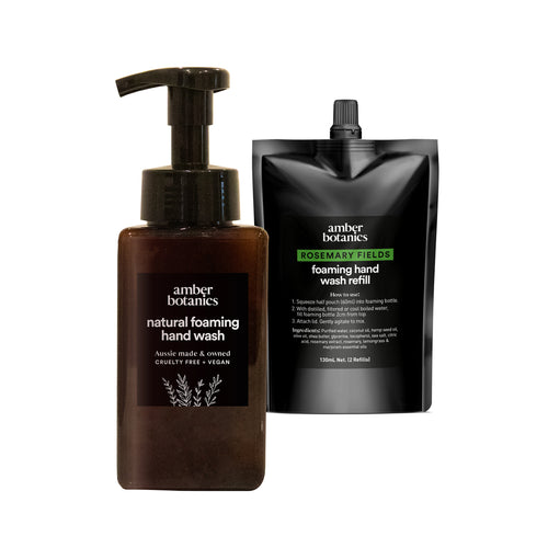 Rosemary Fields - Foaming Hand Wash Duo