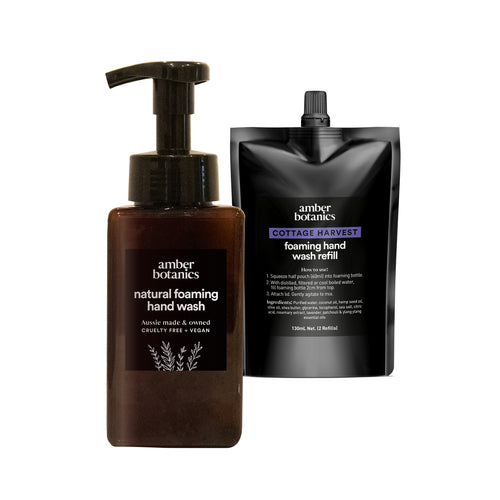 Cottage Harvest - Foaming Hand Wash Duo
