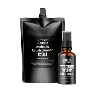 Makeup Brush Cleaner + Refill Pouch Duo