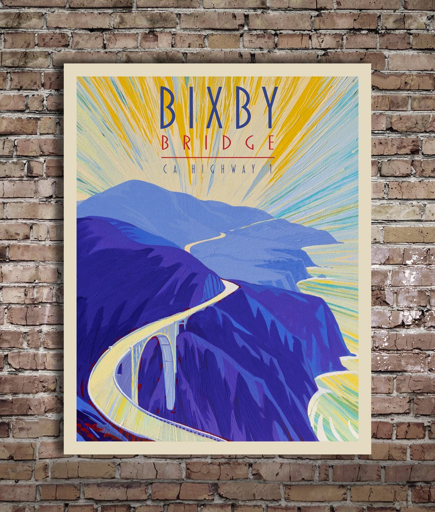 Bixby Bridge I - Traveller Collection
