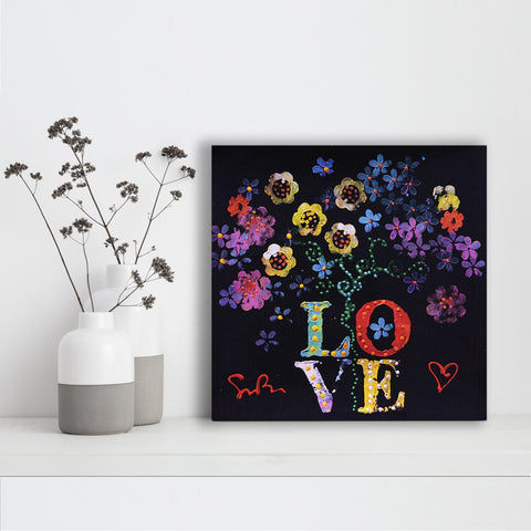 Bouquet of Love - Canvas