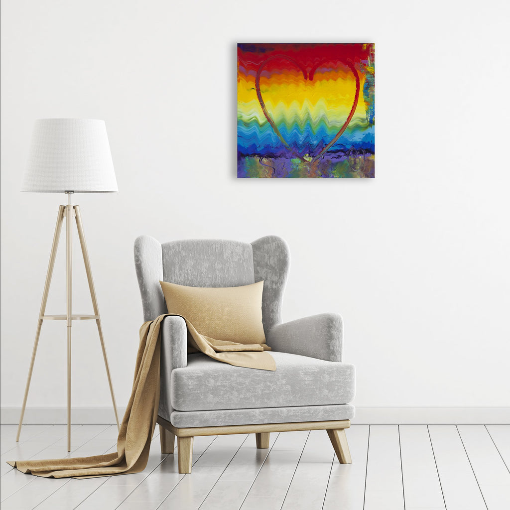 Colors of Love - Canvas