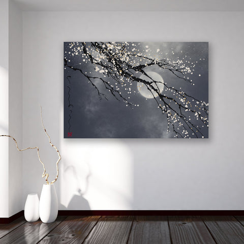Flower Moon - Canvas