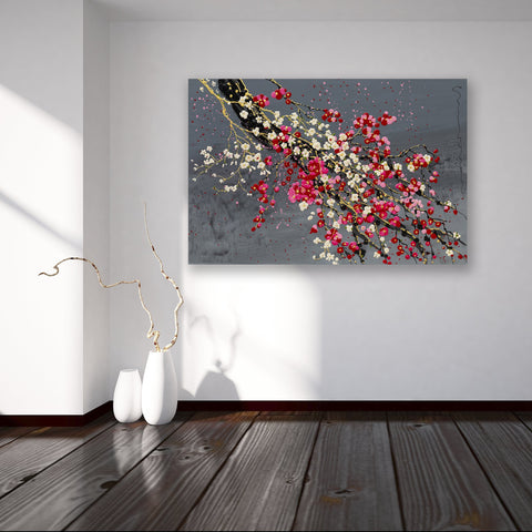 Plum & Cherry - Canvas