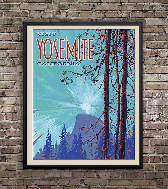 Yosemite: Half Dome - Traveller Collection