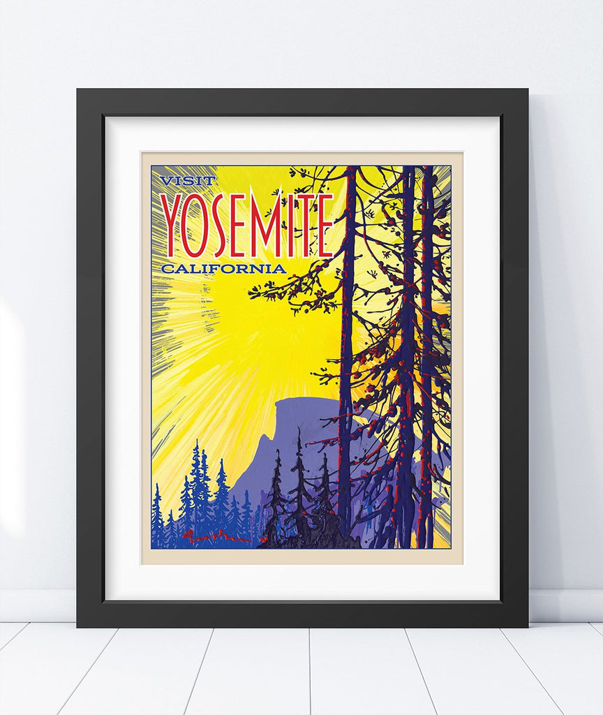 Yosemite: Half Dome Sunrise - Traveller Collection