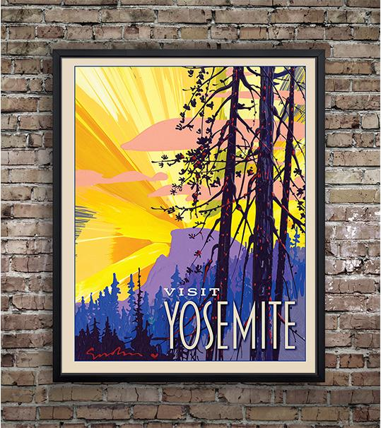 Yosemite: New Day Half Dome - Traveller Collection