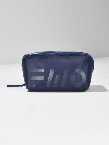 Diagonal Zipper Toiletry Pouch