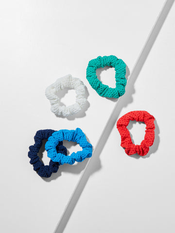 Mini Mesh Scrunchies - Pack of 5