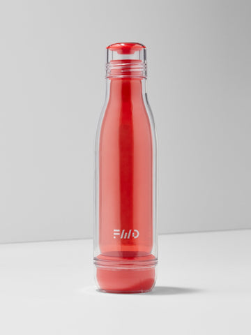 18oz Impact Glass Water Bottle