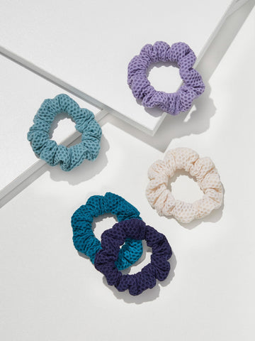 Mini Mesh Scrunchies