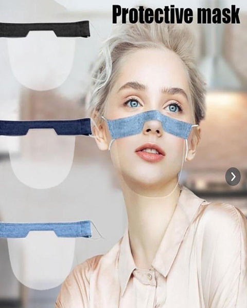 Solid Visible Nose Bridge Face Mask