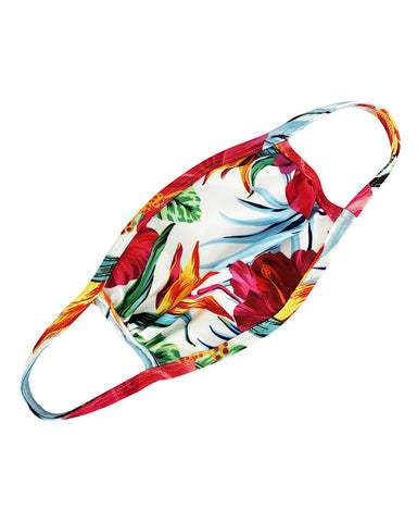 Floral / Tie Dye Print Ear Loop Breathable Mouth Mask