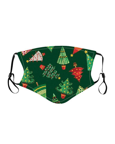 Christmas Mixed Print PM2.5 Filter Breathable Face Mask For Child