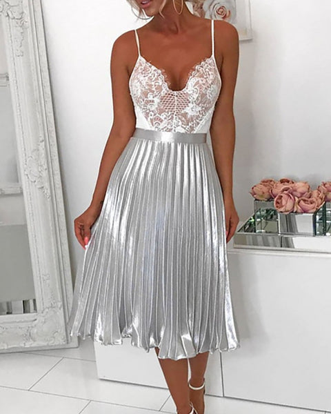 Summer Princess Pleated Skirt