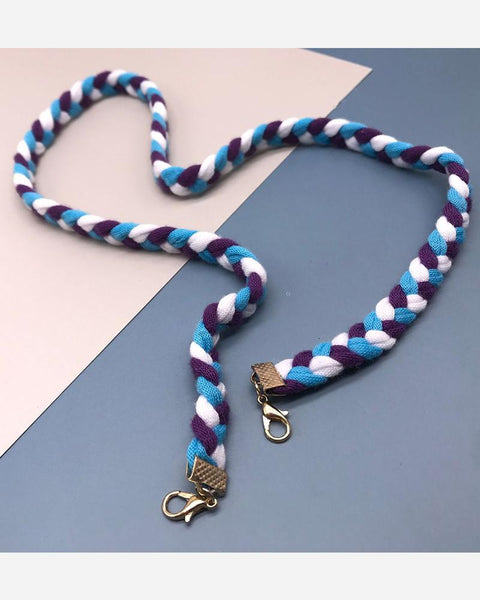 Mask Accessories Multifunctional Mask Braided Lanyard