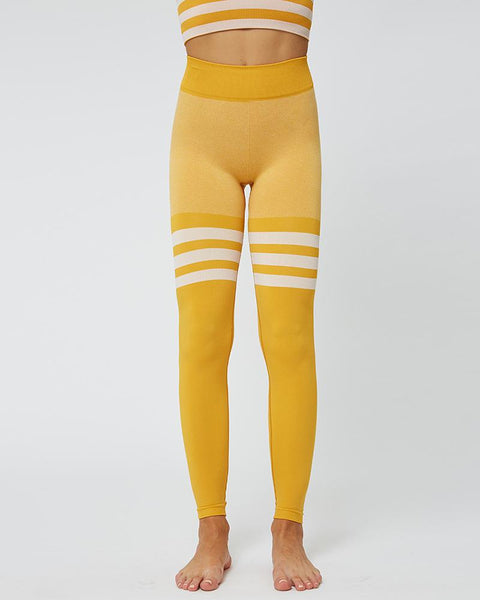 High Waisted Knitted Circle Seamless Legging